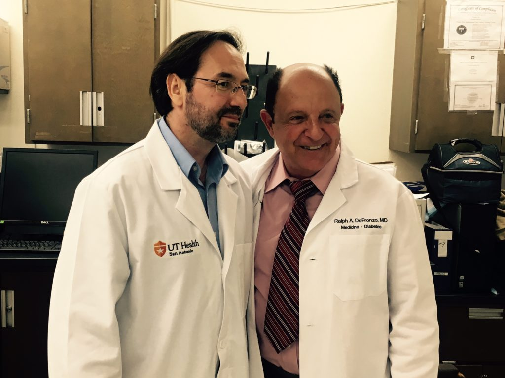 Bruno Doiron, Ph.D. and Ralph DeFronzo, M.D