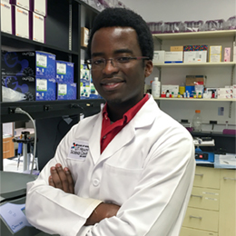 Biomedical Engineering Ph.D. student Ngoni Madungwe