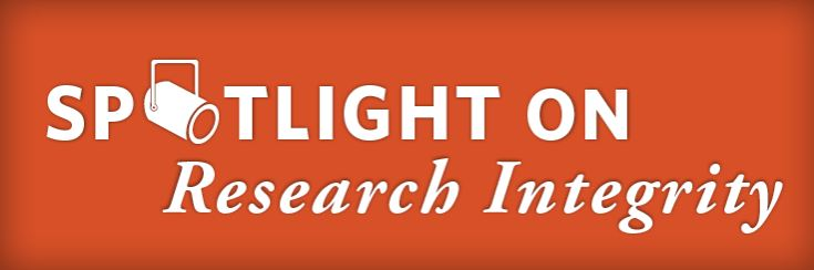 Spotlight on Research Integrity banner