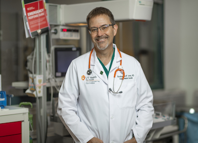 Dr. Jones smiling