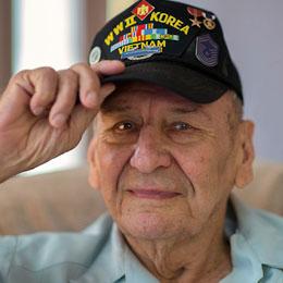U.S. veteran Ramiro Guerra