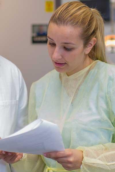 Dr. Vanessa Chrepa, former endodontics resident and current assistant professor of endodontics