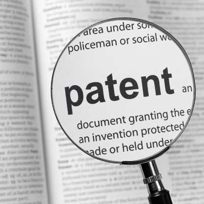 "Magnification of word ""patent"" in dictionary"