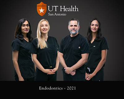 UT Dentistry has board certified endodontists who are specialists in patient care at the UT Health San Antonio