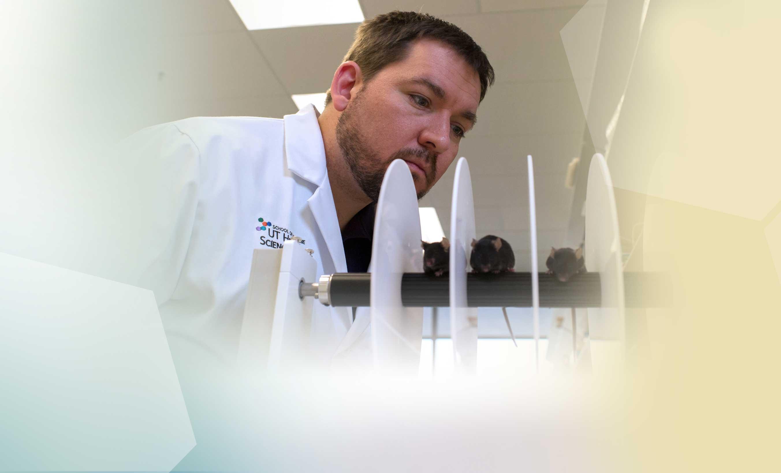 Dr. Michael Beckstead brain Parkinson's research UT Health Science Center UTHSCSA