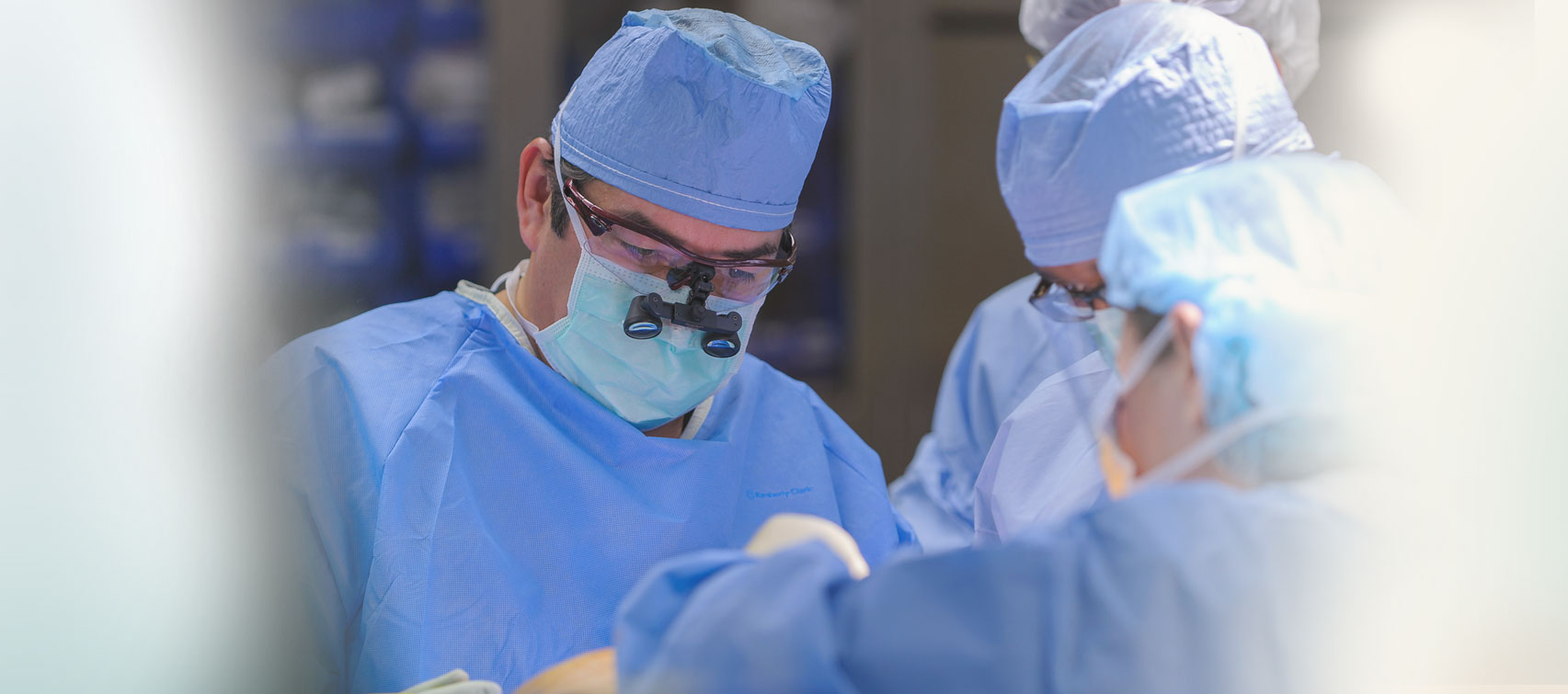 David F. Jimenez, M.D., and Constance M. Barone, M.D., developed a new way of doing pediatric neurosurgery for craniosysostosis. The surgery on infants who have fused skulls once took 8 to 12 hours of surgery; the new surgery takes 45 minutes.