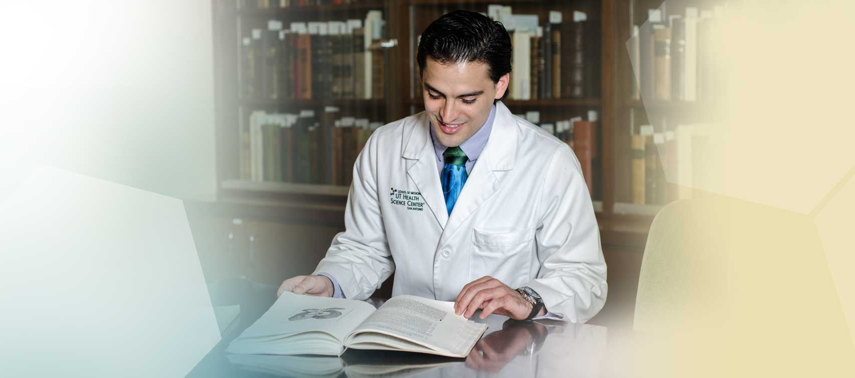 MD/PhD Student Eithan Kotkowski, says UT Health Science Center is a great place to study.