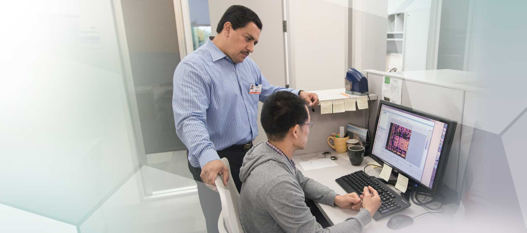 Walter Mejia manages the South Texas Research Facility.