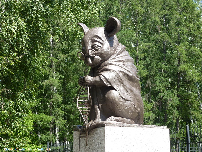 Monument to Lab Mouse by Irina Gelbukh