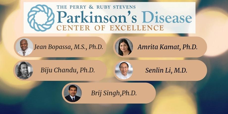 Parkinsons Award Winners