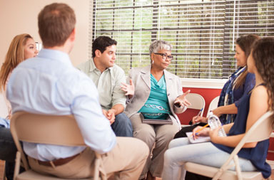 Support groups at Mays Cancer Center in San Antonio
