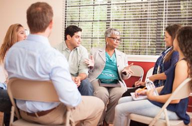 Support groups at UTHSAMDA Cancer Center in San Antonio