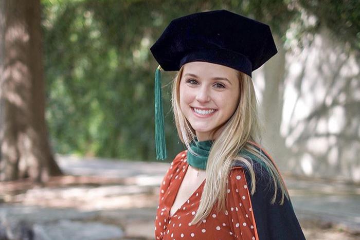 Award recipient: Emily Henkel, Class of 2020