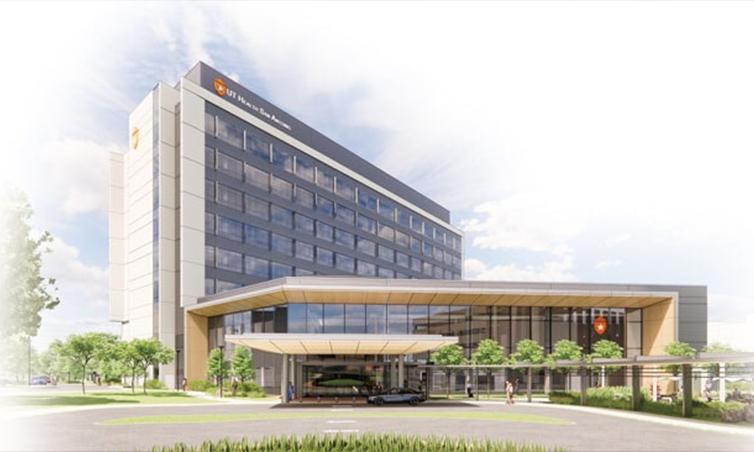 Artist Rendering of new UT Health San Antonio Hospital