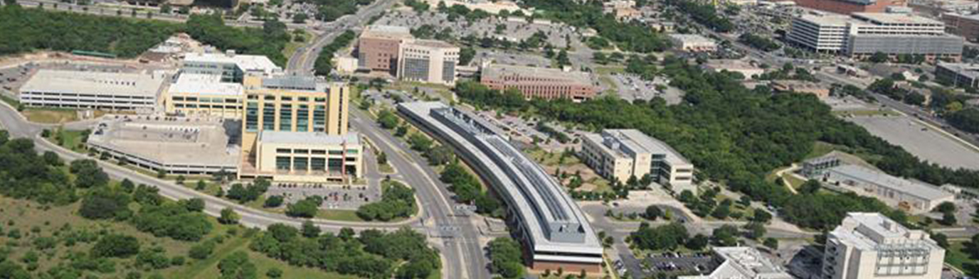 Aerial photo of San Antonio Medical Center