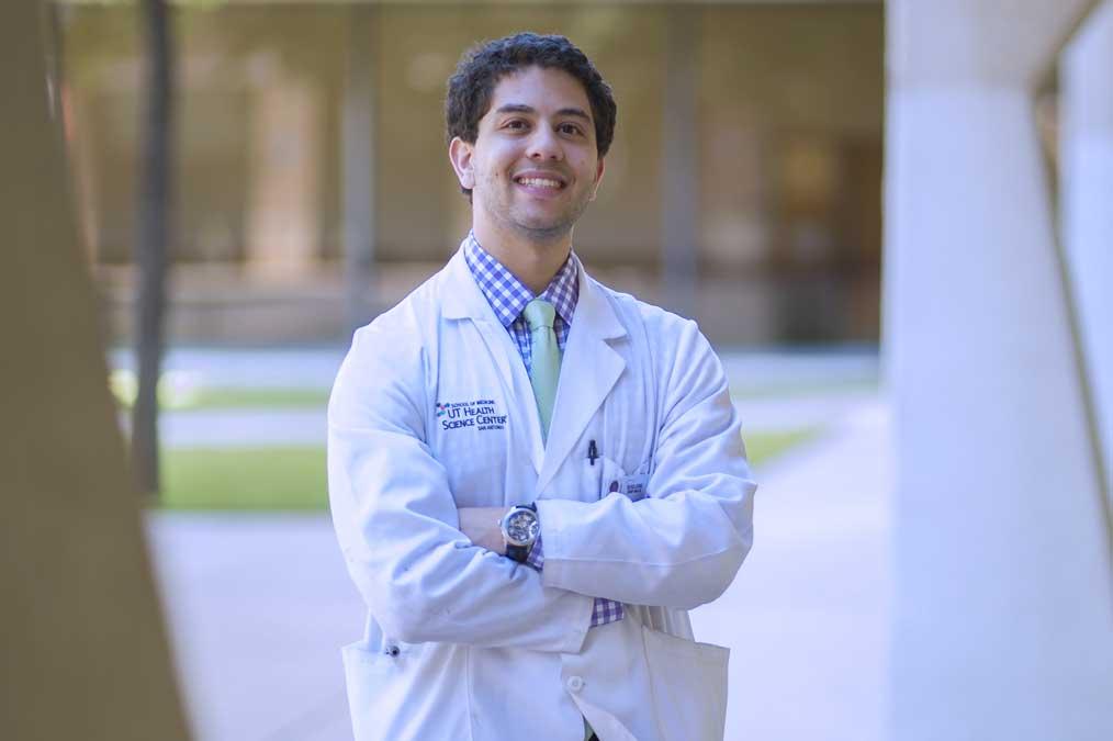 Samy Bendjemil, medical PhD student UT Health Science Center Fulbright