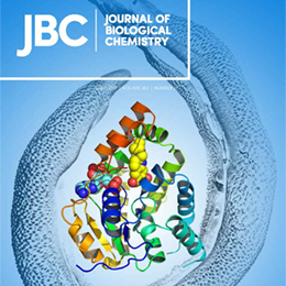 Journal of Biological Chemistry July cover featuring UT Health research to treat parasitic infections