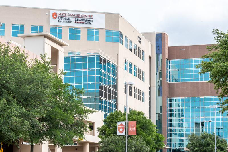 Mays Cancer Center Exterior Shot