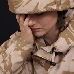 female U.S. soldier