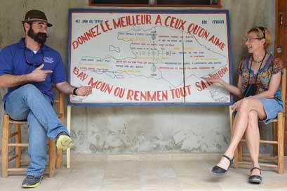 Dr. Ruth Berggren, believer in medical humanities ethics in action in Haiti