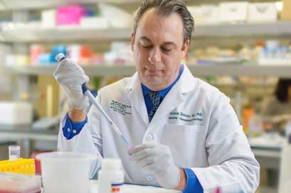 Andrew Brenner, M.D., leads a brand new first-in-human clinical trial to fight Glioblastoma.