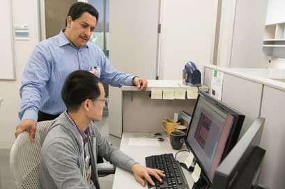 Walter Mejia is the go-to guy for researchers in need at the South Texas Research Facility.
