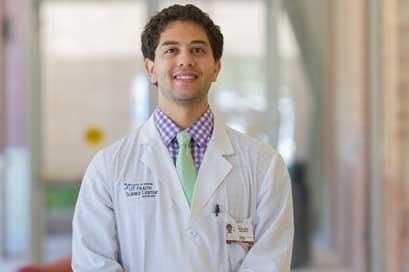 Samy Bendjemil, medical student at UT Health Science Center San Antonio, Fulbright winner