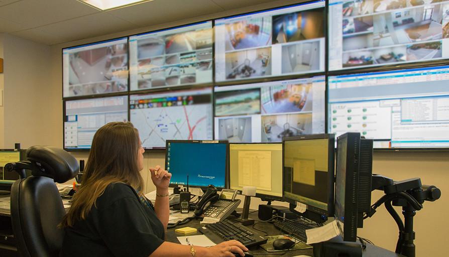 UT Police communication center