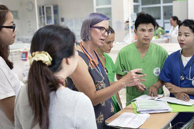 Medical education in Laos (Lao Friends Hospital for Children)