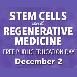 Public Education Day, Stem Cells