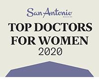 san antonio top doctors for women 2020 logo