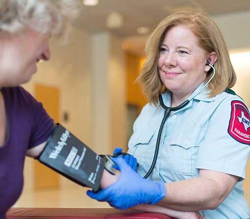 Sarah Obringer paramedic