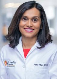 Asma Khan, Ph.D., B.D.S.