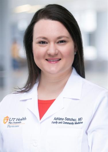 Adriana Sanchez   UT Health San Antonio