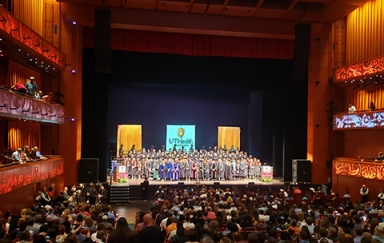 Tobin Center Graduation