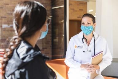 UT Health Physician Doctor and UTSA student