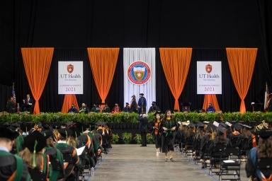 UT Health San Antonio 2021 Commencement at Alamodome