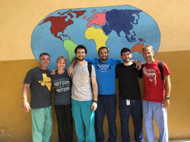 PT students in Dominican Republic