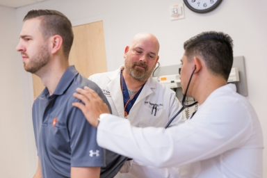 """Assistant Professor and Department of Physician Assistant Studies Associate Chair Steven """"Tony"""" Skaggs, PA-C"""