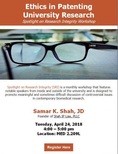 Spotlight on Research Integrity flyer