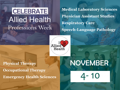 National Allied Health Week