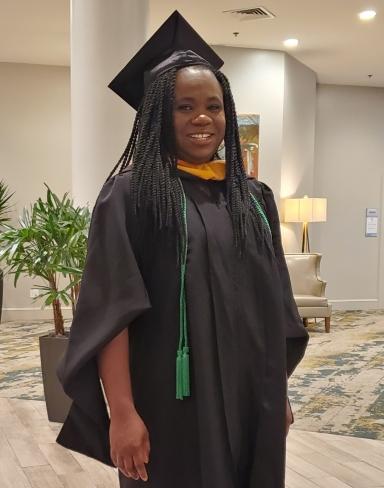 Damilola Daniels, MS in MLS