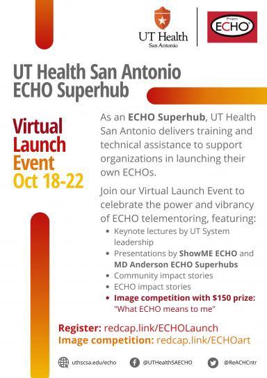 ECHO Superhub Launch Event Flyer Image
