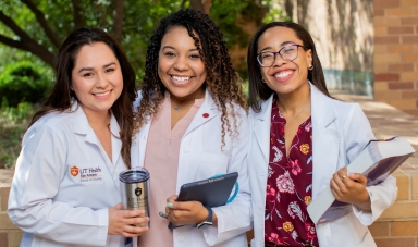 UT Health San Antonio School of Nursing Students