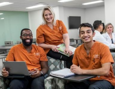 UT Health San Antonio School of Nursing Students