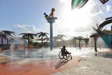 Morgan's Inspiration Island splash park
