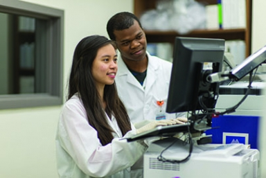 """Using cutting-edge technologies, medical laboratory scientists (MLS) analyze body fluids to prevent diseases. - UT Health"