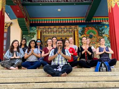 UT Health San Antonio Students visited India