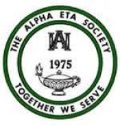 Alpha Eta logo