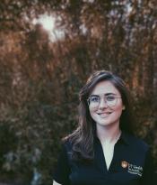 OT student and Ellsworth scholarship winner Erin Hobbs